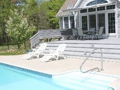 Luxury Home with inground Pool and Access to Private Beach