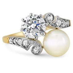 The Pearl Ring from Brilliant Earth