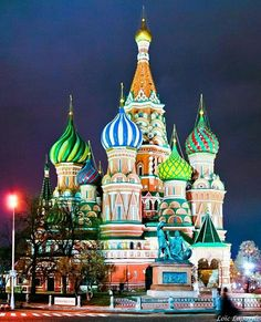 St. Basil Cathedral, Moscow,  Russia. #loveletters #love #life #city #cityscape #travel #moscow #russia #citylights #lights #night #photography #photooftheday #travelphotography #travelgram #traveller #instagood #instadaily #instaphoto #instanature #instatravel #instacool #adventure #happiness #fun #explore #wanderlust #motivation