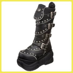 Bota plataforma Demonia negra | love clother | Pinterest | Swings, Gothic  shoes and Gothic
