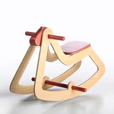 rocking horse C03, Emanuel Rufo wooden toys