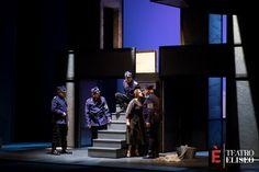 Il Grande Dittatore   regia Giuseppe Marini e Massimo Venturiello   con Tosca e Massimo Venturiello   Teatro Eliseo, dal 16 febbraio al 6 marzo 2016   Ph. Sarah Rubbera