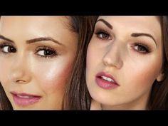 "NINA DOBREV ""Vampire Diaries"" Makeup Tutorial - glamorous but natural"