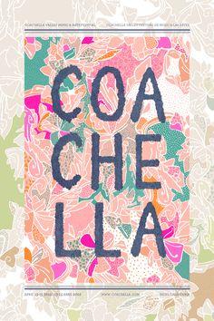 coachella redesign / danielle roche