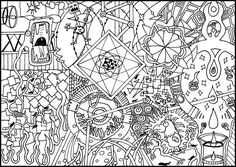 Detailed Coloring Pages For Adults | Colouring Page 2 by ~2punk4everything on deviantART