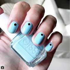 Color Match: Essie || Mint Candy Apple  Love this color for transitioning into the spring/summer weather! Don't forget to throw on some minimal dots for an easy peasy nail art too! #SpringStyle #SummerStyle #nails #nailstagram #nailinspiration