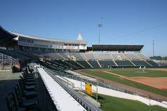 Inside Hammond Stadium, Fort Myers, FL.