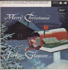 45cat - Jackie Gleason And His Orchestra - Merry Christmas, Parts 3 & 4 - Capitol - USA