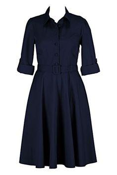 eShakti Women's Cotton poplin belted shirtdress XL-16 Short Deep navy eShakti http://www.amazon.com/dp/B00PE025K4/ref=cm_sw_r_pi_dp_FoFBub02YJ6T4