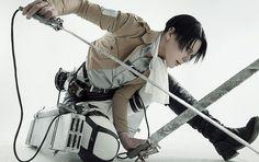 Attack on Titan Levi cosplay