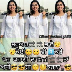 43 Best Whtsapp punjabi status images | Punjabi status, Punjabi