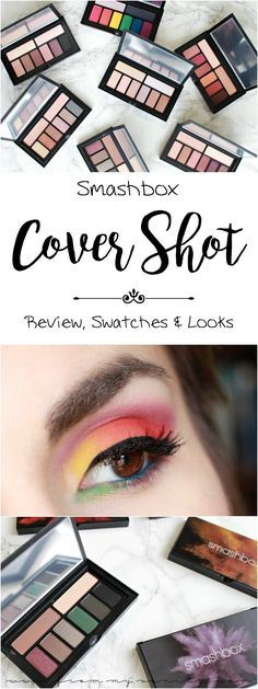 Smashbox Cover Shot Palette Collection | Eye Look Inspiration | Review & Swatches | Makeup Inspiration