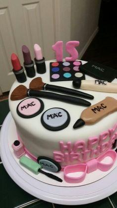 Amy's Crazy Cakes - MAC Makeup Cake