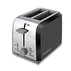 image of WestBend Two Slice Toaster in Black/Silver