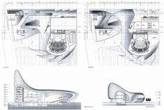 Заха Хадид (Zaha Hadid Architects): Heydar Aliyev Merkezi Cultural Center (Культурный центр им. Гейдара Алиева, Баку, Азербайджан), 2007—