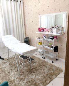 Beauty Room Salon, Beauty Studio, Spa Room Decor, Home Decor, Esthetics Room, Lash Room, Home Salon, Studio Room, Salon Design