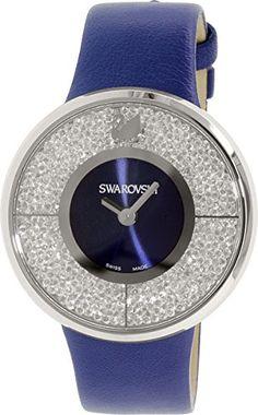 Swarovski Men's Crystalline 1184026 Blue Leather Swiss Qu... https://www.amazon.com/dp/B00LAQYLXU/ref=cm_sw_r_pi_dp_x_TSGXyb1M8DBK9