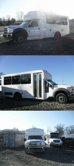 2012 Ford Champion Shuttle Low Mileage AC Used Bus, Buses For Sale, Powerstroke Diesel, Interior And Exterior, Champion, Ford, United States, Pictures, Photos