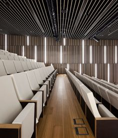 VAUMM arquitectura y urbanismo, Fernando Guerra / FG+SG · Basque Culinary Center Flur Design, Hall Design, Church Design, Theatre Design, Design Design, House Design, Auditorium Design, Theatre Architecture, Interior Architecture