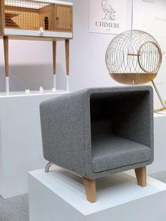 The height of sophistication for Fluffy and Fido, designed by Chimere. #salonedelmobile #milan2012