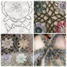 crochet bloom afghan, not in English mostly pictures Form Crochet, Crochet Flower Patterns, Crochet Squares, Crochet Motif, Crochet Shawl, Crochet Doilies, Crochet Flowers, Crochet Lace, Crochet Stitches