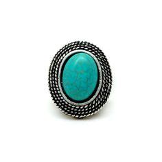 Anel Boho Turquoise — Nineteen Acessórios