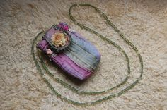 Fairy Bag Amulet Purse Amulet Necklace Pouch Necklace Festival Purse via Etsy