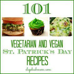Vegetarian and Vegan St Patrick's Day Recipes