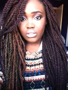 Awesome Marley twists braids Must try - Afro Fahionista Marley Twists, Havana Twists, Marley Braids, Havana Braids, Dutch Braids, Twist Hairstyles, Protective Hairstyles, Cool Hairstyles, Protective Styles