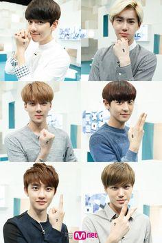 EXO-K My BOYFRIENDS ♡.♡ #baekhyun #suho #joonmyun #sehun #chanyeol #D.O #kyungsoo #kai #jongin