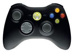 Xbox 360 Wireless Controller Matte Black