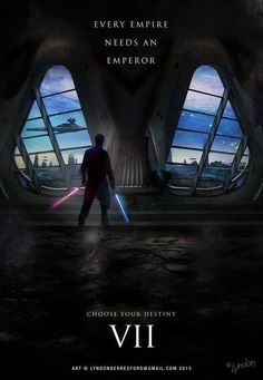Star Wars VII - nice fan poster, add a bunch of lens flares and it will seem really legit.