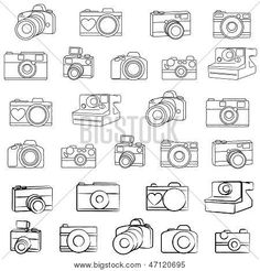 hand drawn camera icon - Google Search