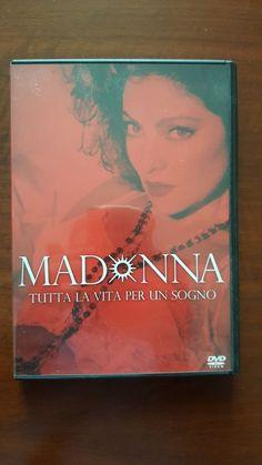 Madonna Tutta La Vita Per Un Sogno DVD film ITALIANO Mint