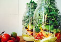 How to build the perfect salad Jar