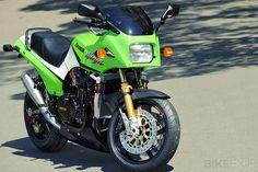 Marvelous Kawasaki GPz900R Pictures