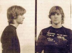 Kurt Cobain, 1986 Aberdeen, WA Char... Kurt Cobain, 1986 Aberdeen, WA Charge: Trespassing while intoxicated