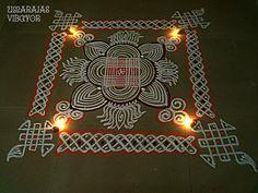 Very Easy Rangoli Designs, Indian Rangoli Designs, Rangoli Designs Latest, Rangoli Designs Flower, Small Rangoli Design, Rangoli Border Designs, Rangoli Designs With Dots, Rangoli With Dots, Beautiful Rangoli Designs