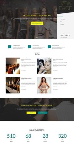 New Face Responsive One Page Theme. HTML/CSS Themes. $12.00