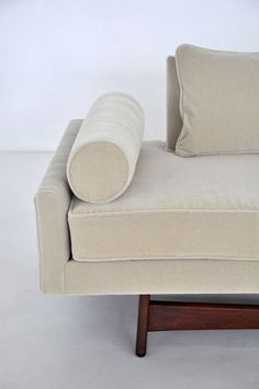 Concept for upholstered cocktail table/bench..........Adrian Pearsall Sculptural Sofa image 4