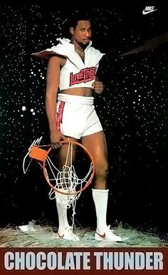 This is hilarious! Was he trying to look sexy?!!                             Darryl Dawkins