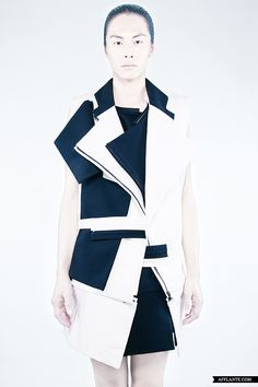 Fashion 'Collection #8′ // Rad Hourani | Afflante.com
