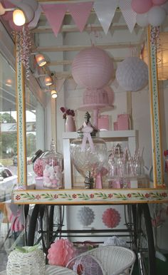 Candy floss Cart styled by Gabby from Love to Celebrate