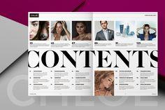 Magazine Page Layouts, Magazine Format, Magazine Layout Design, Magazine Template, Magazine Cover Layout, Contents Page Design, Page Layout Design, Web Design, Noli Me Tangere