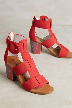 Slide View: 1: Nina Originals Weaver Block Heels