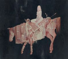 """Incredible new works by Joao Ruas, from his solo show """"VERSO"""" at Thinkspace Gallery."""