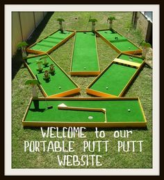 Mini Golf on Pinterest | 17 Images on miniature golf, golf and carniv…