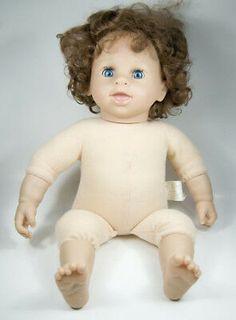 Künstlerpuppen art doll ooak creepy cute baby antique porcelain cup sitter