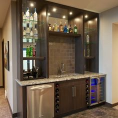 Walk-up Bar Design Ideas, Pictures, Remodel and Decor