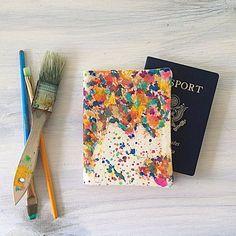 Fancy - Custom Map Passport Cover